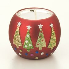 Christmas Trees Tealight Holders Set