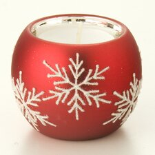 Snowflake Tealight Holders Set