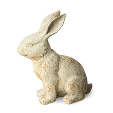 Rustic Rabbit Garden Statue