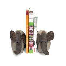 Elephants Book Ends (Set of 2)