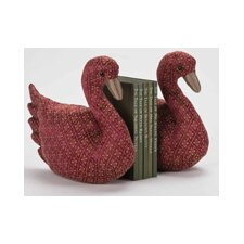 Swans Book Ends (Set of 2)