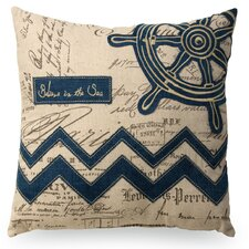 Nautical Wheel Pillow