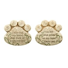 Pet Bereavement Stepping Stone (Set of 2)