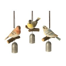 Perched Bird Garden Bell (Set of 3)
