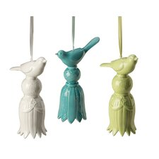 Tassel Bird Bell (Set of 3)