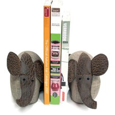 <strong>October Hill</strong> Elephants Book Ends (Set of 2)