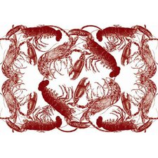 Lobster Large Paper Placemat
