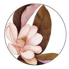 "Magnolia 6.25"" Melamine Appetizer Plates (Set of 4)"