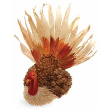 Medium Home Accent Husk Turkey Figurine
