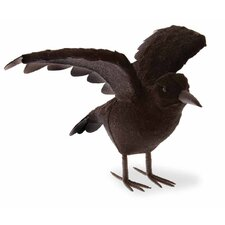 Halloween Accent Raven Wings Extended Figurine