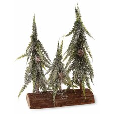 "9.75"" Weeping Spruce Tree Trio Home Accent"