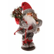 "15"" Holiday Accent Santa with Sack Holiday Accent"