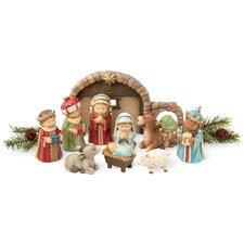 Adorable Nativity Set