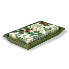 Ceramic Napkin Caddy Tray