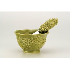 Grapes Bowl and Spreader Set