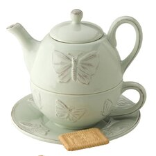 Butterflies 2 Piece Tea Set