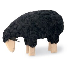 <strong>October Hill</strong> Wooly Sheep Figurine