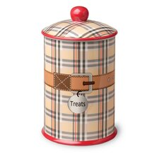 Dog and Cat Treat Canister