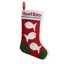 Good Kitty Hooked Stocking