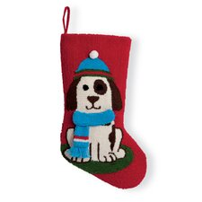 Dog 3D Hooked Stocking