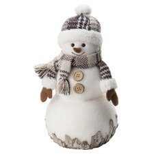 Snuggles Snowman Holiday Accent