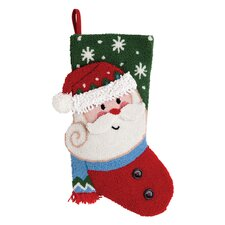 Santa 3D Hooked Stocking