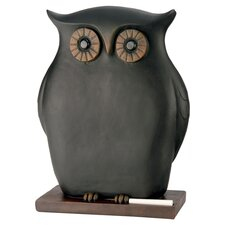 """Owl 1'1.5"""" x 9.5"""" Chalkboard"""