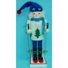 Male Skier Nutcracker