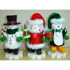 Dancing Feet Nutcracker (Set of 3)