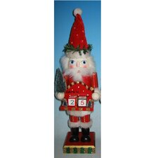 Santa with Date Nutcracker
