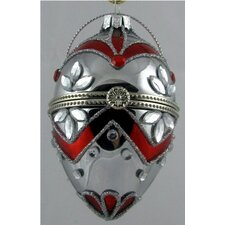 Faberge Style Opening Egg Ornament