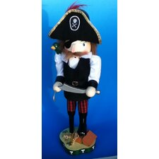 Pirate with Parrot Nutcracker