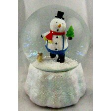 Singing Snowman Musical Waterglobe