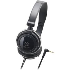 <strong>Audio-Technica</strong> Rotating Earpieces On-Ear Headphones