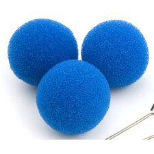 <strong>Droog</strong> Spare Sponges in Blue (Set of 3)