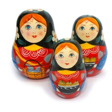 <strong>Kitchenista Corp</strong> Measuring Matroyshkas Russian Dolls Measuring Cups
