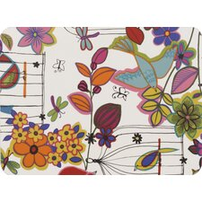 Flower and Bird Laminated Placemat