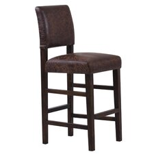 "<strong>Monsoon Pacific</strong> Bridger 29"" Bar Stool with Cushion (Set of 2)"