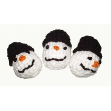 <strong>A Pet's World</strong> Trio Snowman Cat Toys