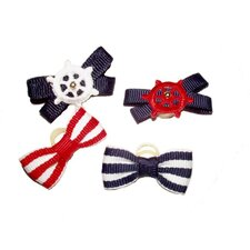 Summer Dog Bows (Set of 8)