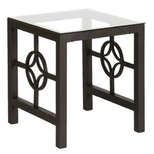 Medallion End Table