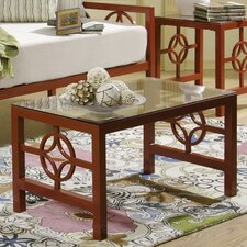 <strong>In Style Furnishings</strong> Medallion Coffee Table