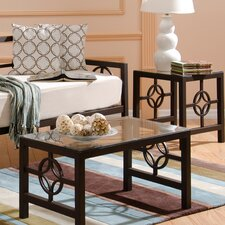 <strong>In Style Furnishings</strong> Medallion Coffee Table Set