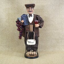 Classic Home Wine Bottle Cork Figurine