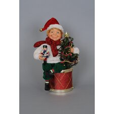 Crakewood Lighted Elf with Drum