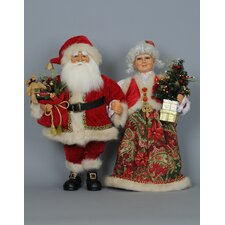 Christmas Mr. & Mrs. Claus Traditional