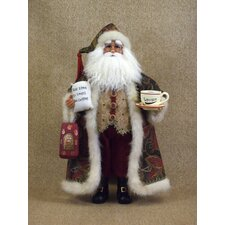 Crakewood Coffee Santa Claus Figurine