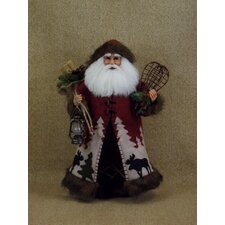 Crakewood Wilderness Santa Claus Figurine