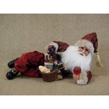 Crakewood Santa Lying Down with Wine