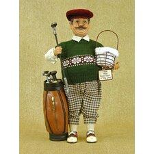 Classic Home Golfer Figurine
